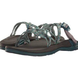 CHACO Wrapsody X Sandal Strappy Hiking Key Teal 10